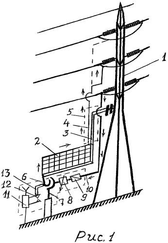 Устройство для плавки гололеда на воздушных линиях электропередач имени степана филипчука