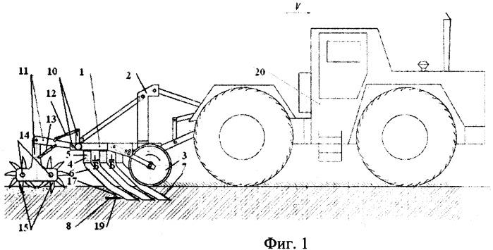 Агрегат для безотвальной обработки почвы