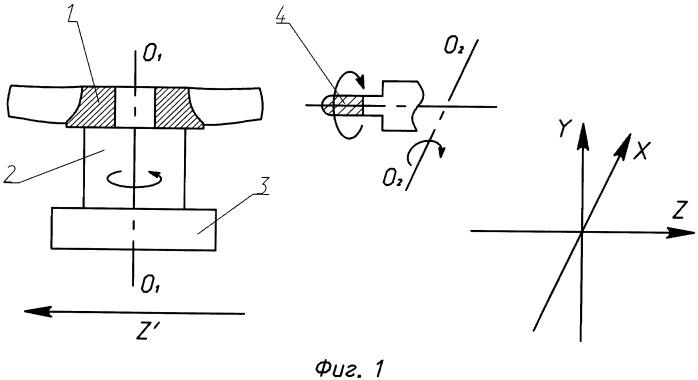 Способ обработки моноколеса газотурбинного двигателя