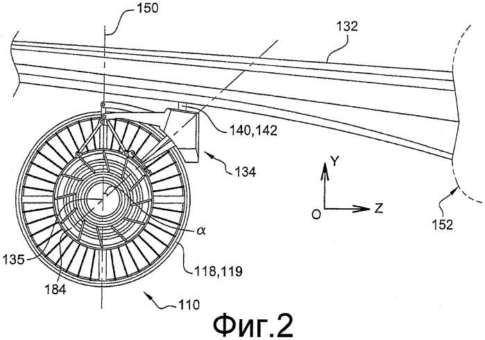 Подвеска силовой установки к конструктивному элементу летательного аппарата