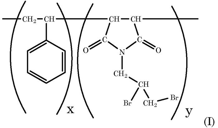 Бромированные полимеры в качестве пламягасителей и содержащие их полимерные системы