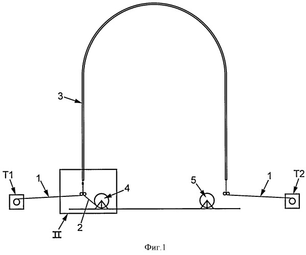 Способ пропускания прядей арматурного пучка через канал и устройство для его осуществления