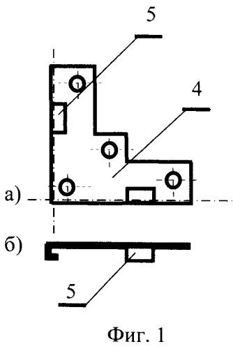 Устройство для закрепления панелей на плоской поверхности