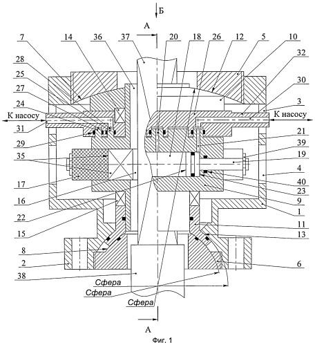 Герметизатор устьевой роторный плашечный