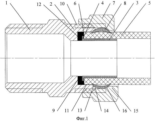 Узел соединения элемента трубопроводной арматуры с трубой из полимерного материала и элемент трубопроводной арматуры для него