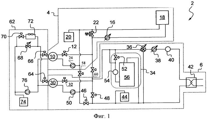 Система охлаждения для торгового центра