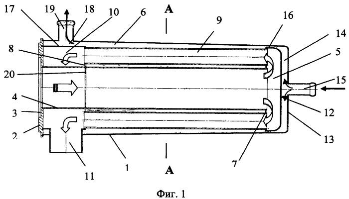 Теплообменник жидкостной системы отопления
