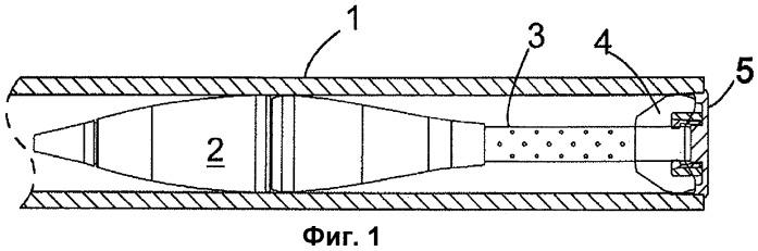 Устройство для удержания снаряда в стволе орудия и опорный узел