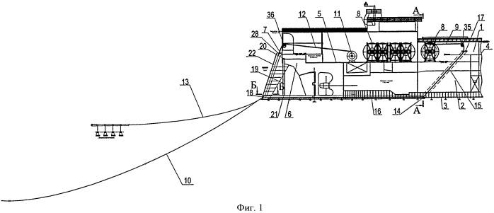 Комплекс для буксировки забортного сейсмооборудования