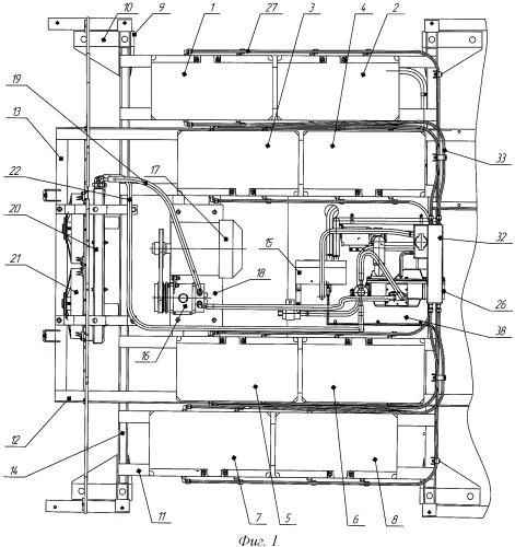 Устройство термостатирования аккумуляторных батарей