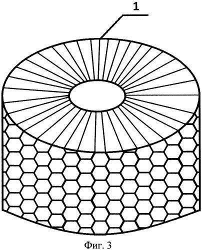 Электронагреватель и способ изготовления сотового нагревательного элемента для него