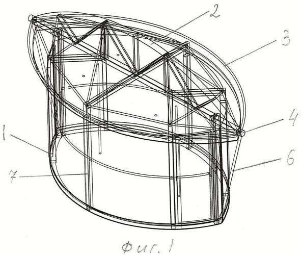 Пассажирский модуль колеса обозрения (варианты)