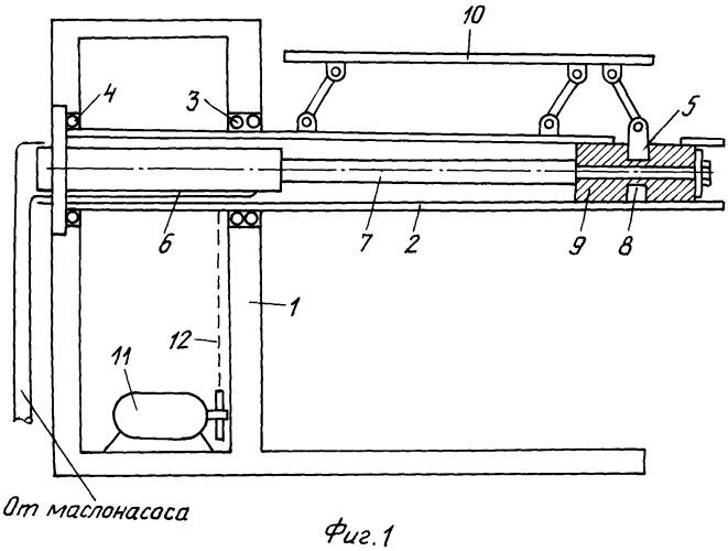 Гидравлическое устройство для разматывателей