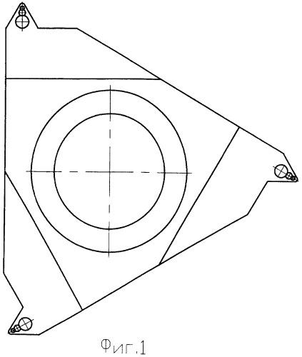Сменная режущая многогранная резьбовая пластина со стружколомом