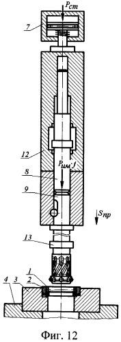 Способ статико-импульсного раскатывания внутренней дорожки наружного кольца шарикоподшипника