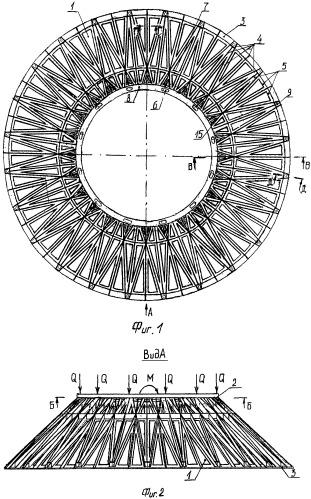 Адаптер в виде подкрепленной оболочки вращения конической формы из полимерных композиционных материалов