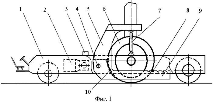 Малогабаритное устройство для буксирования воздушных судов