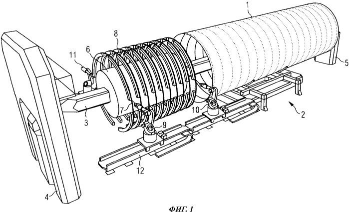 Способ и устройство для соединения склеиванием компонентов с большой площадью поверхности, используемых в транспортном машиностроении