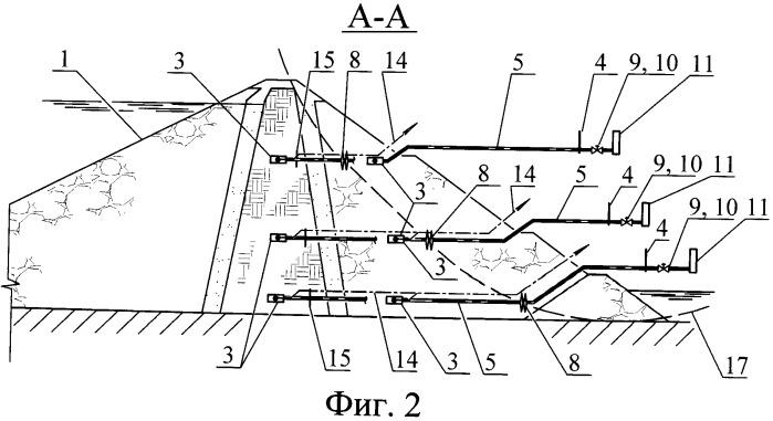 Устройство для определения деформаций грунтового массива и способ его эксплуатации