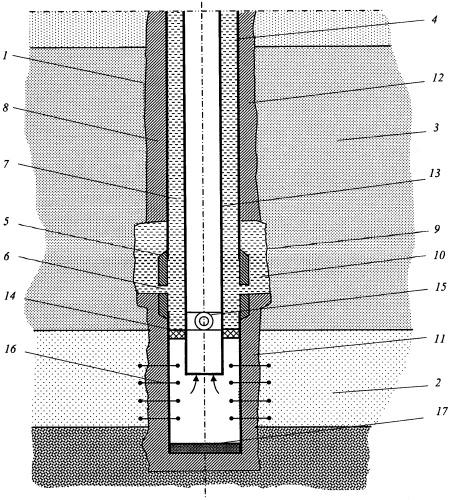 Способ заканчивания газовой скважины