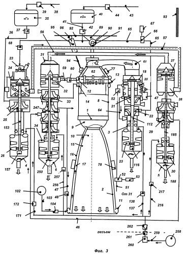 Кислородно-водородный жидкостный ракетный двигатель