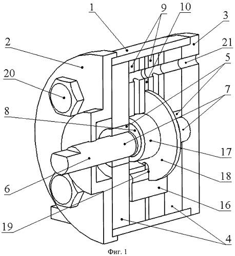 Роторный топливный насос высокого давления для аккумуляторных топливоподающих систем
