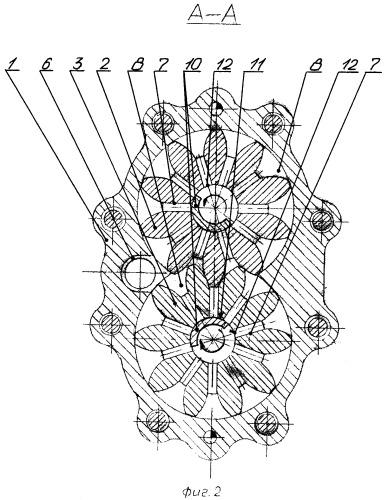 Центробежно-шестеренный насос