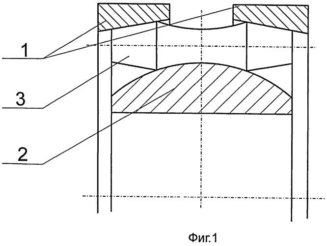 Сферический подшипник качения (варианты)
