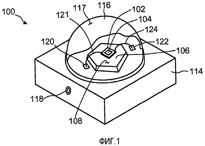 Светоизлучающий диод для установки на теплоотвод