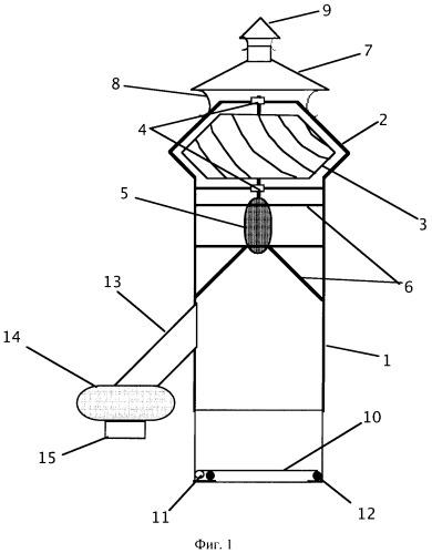Дефлектор-вентилятор