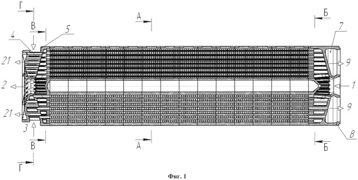 Матричный керамический воздухоподогреватель (вп)