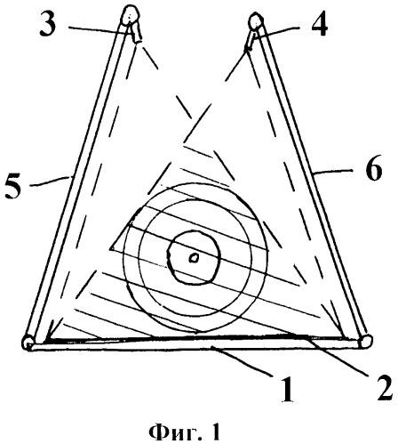 Световой экран для определения координат пролета пули