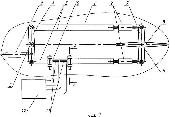 Устройство для обеспечения заданного усилия натяжения регулируемой механической тяги