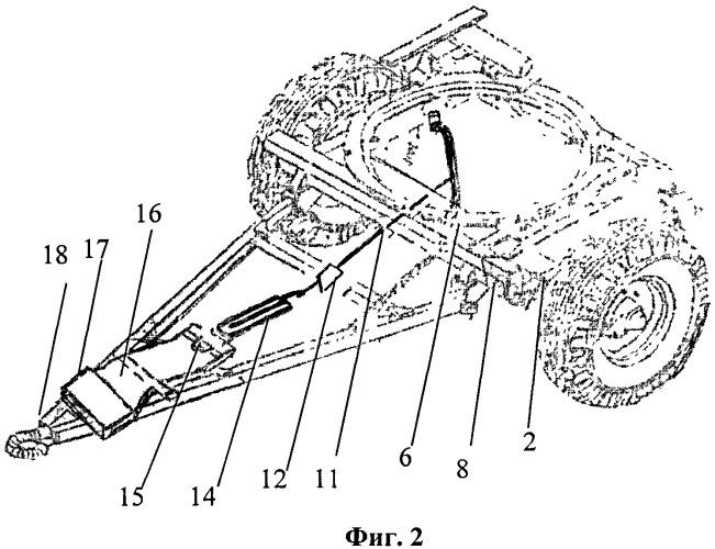 Увеличитель сцепного веса буксируемых автомобильных прицепов