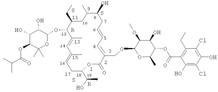 Композиции стабильных тиакумицинов