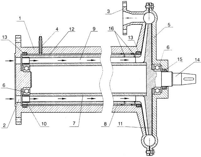Сепаратор очистки жидкости центробежный