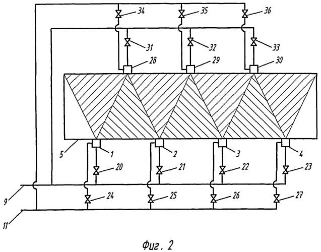 Система для распыления сорбента в среде дымовых газов теплотехнических установок