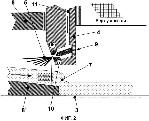 Способ и устройство для изготовления стальной полосы посредством непрерывного литья полосы