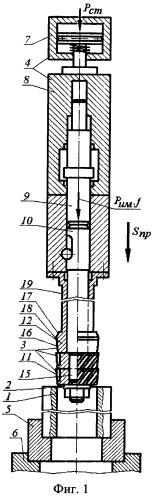 Устройство для обработки с калиброванием и упрочнением металлических внутренних цилиндрических поверхностей деталей