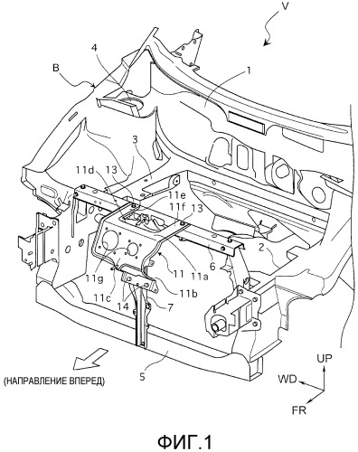 Устройство зарядного порта транспортного средства