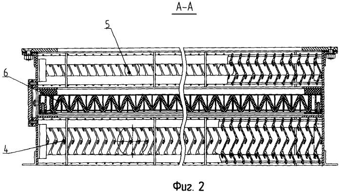 Система очистки воздуха для судовых энергетических установок
