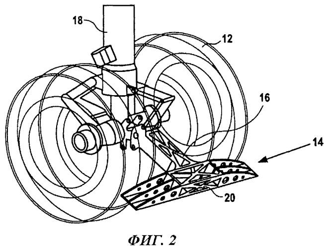 Предохранительная решетка для двигателя