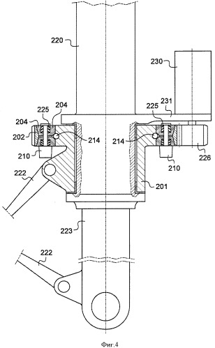 Шасси, оборудованное устройством селективной передачи усилия