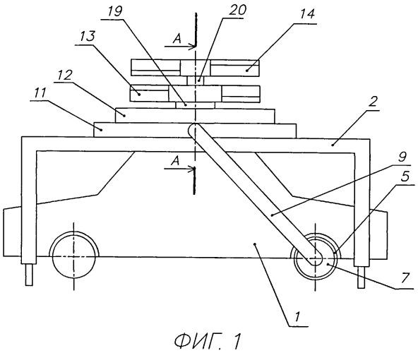 Богданова устройство для подъема и перемещения автомобиля или другого транспортного средства