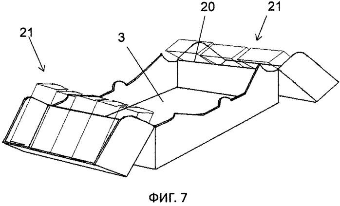 Ящик для упакованных штучных продуктов (варианты)