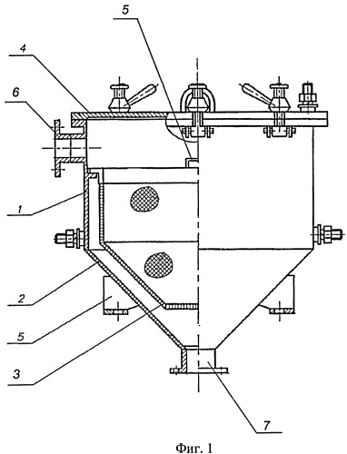 Устройство для фильтрации высоковязкого раствора каучука в токсичном и пожароопасном органическом растворителе