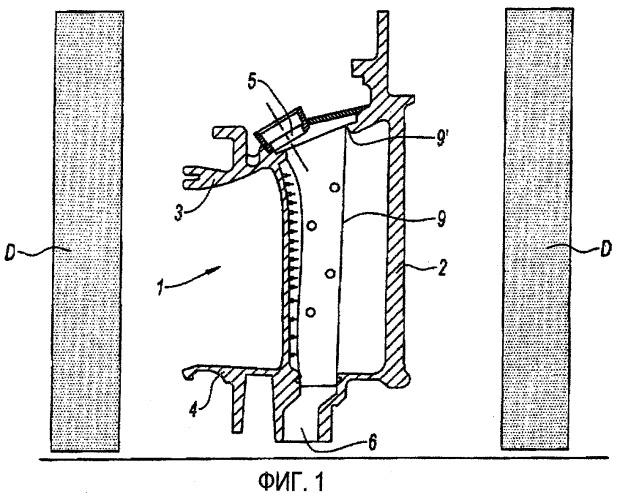Способ алюминирования из паровой фазы металлической детали газотурбинного двигателя, донорская рубашка и лопатка газотурбинного двигателя, содержащая такую рубашку