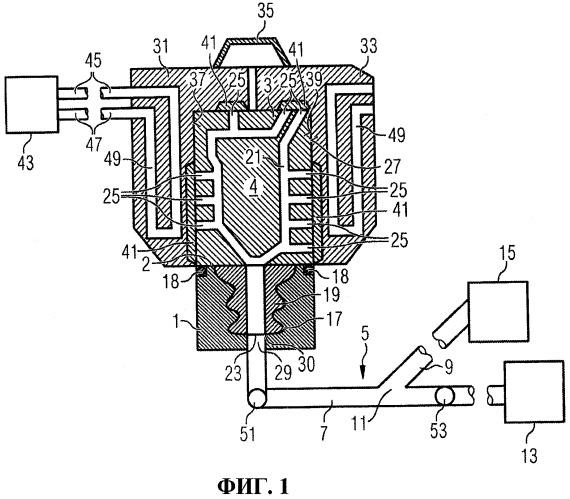 Способ маскировки охладительных отверстий и устройство для использования в процессе маскировки охладительных отверстий