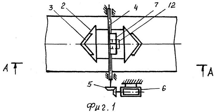 Водомерное устройство для учета расхода воды в каналах оросительной системы