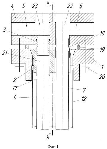 Оборудование устья скважины с параллельной подвеской труб